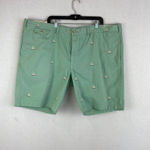 POLO BY RALPH LAUREN Green Boat Shorts NWT